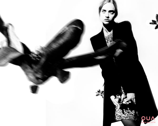 QUA Fall 2009 Campaign | Marcelina Sowa by Erik Madigan