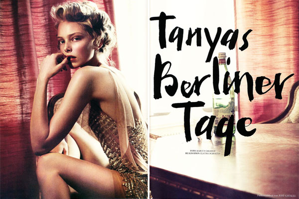 Tush Winter   Tanya Dziahileva by Marcus Ohlsson