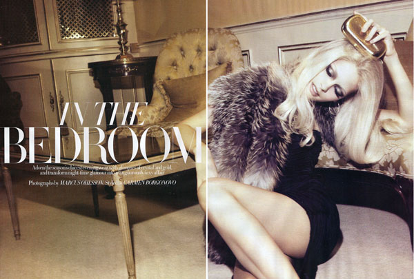 Harper's Bazaar UK   Michaela Hlavackova by Marcus Ohlsson