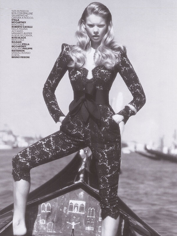 Marie Claire Italy | Marloes Horst by Laura Sciacovelli