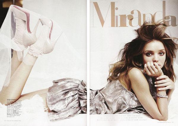 Harper's Bazaar Australia Dec | Miranda Kerr by Simon Lekias