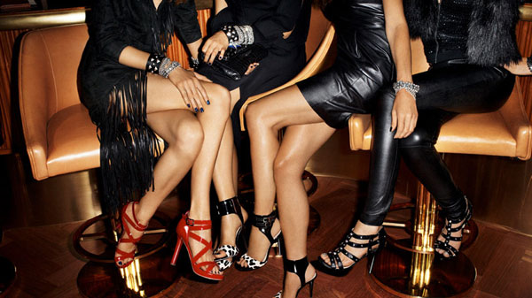 Jimmy Choo for H&M Campaign | Sasha & Edita by Terry Richardson