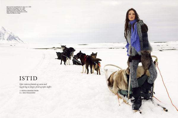 Cover Story | Tiiu Kuik by Åsa Tällgård for Elle Norway