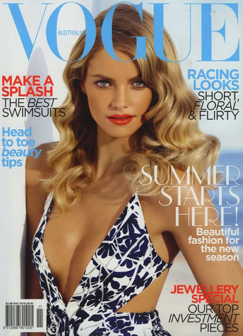Vogue Australia November 2009 - Elyse Taylor