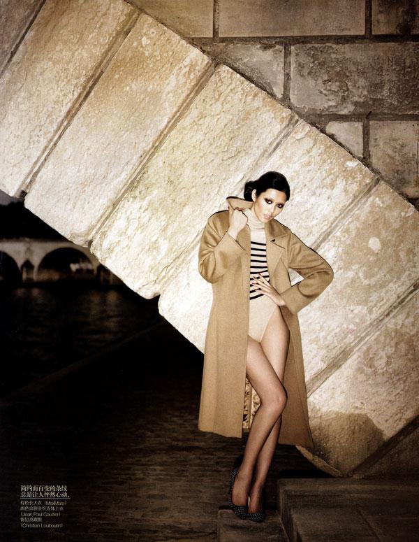 Belle de Nuit   Liu Wen by Alexi Lubomirski for Vogue China