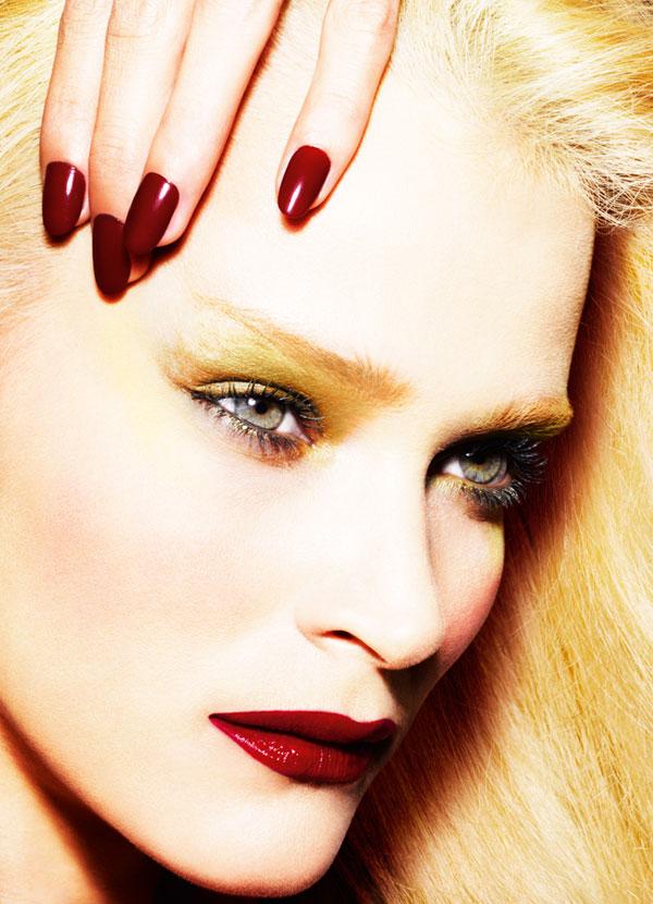 Morning Beauty   Carmen Kass by Mario Testino for Allure October