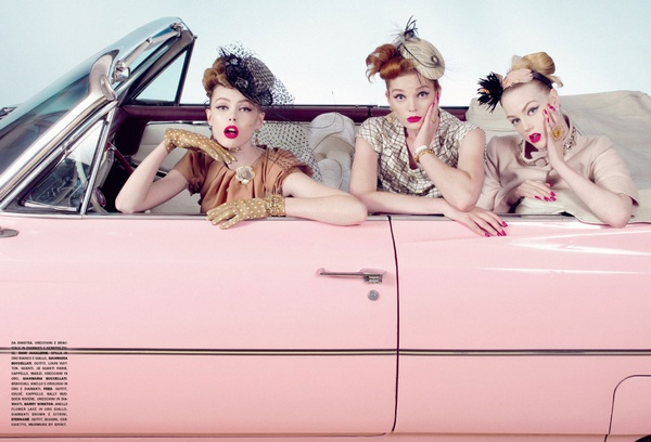 The Chic and the Cars | Sanchez & Mongiello for Vogue Gioiello