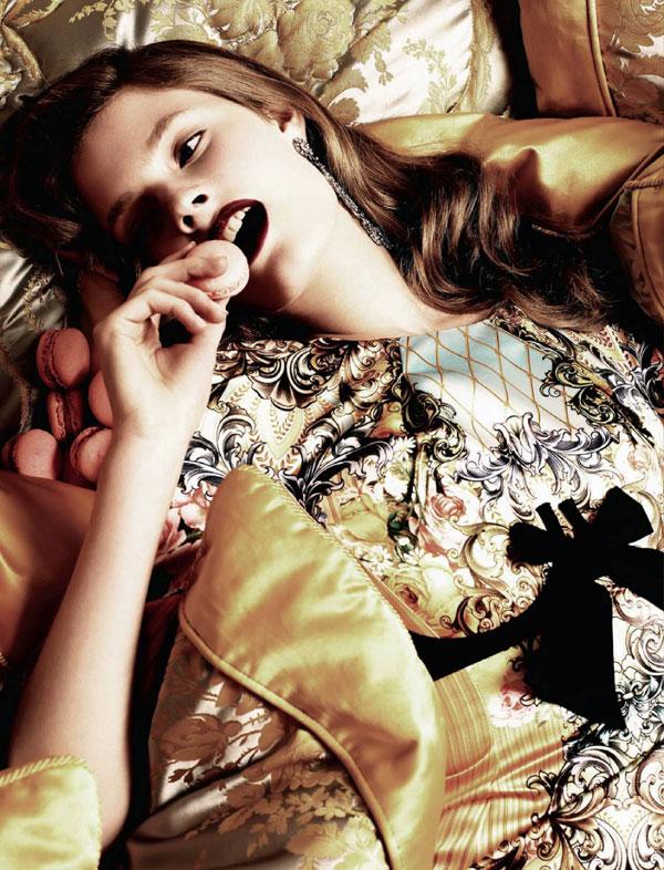 Harper's Bazaar Russia | Constance Jablonski by Joshua Jordan