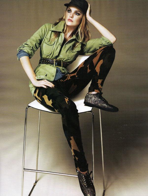 Kai Z. Feng Photographs Caroline Trentini for Vogue UK