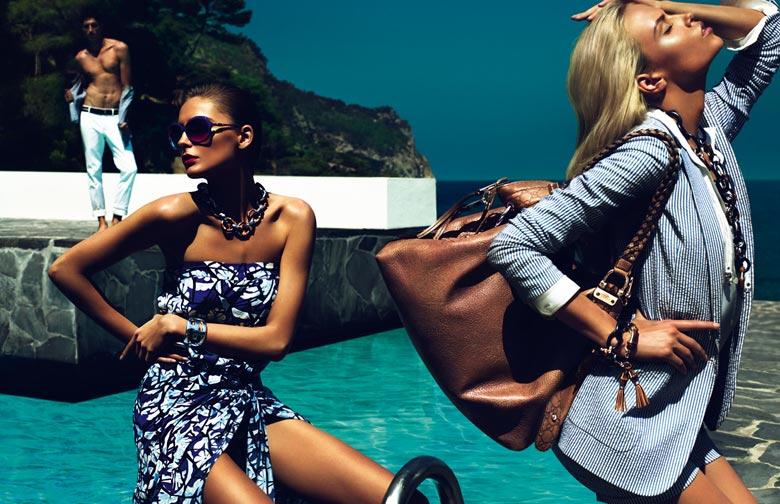 5ffc8d21a7 Campaign   Natasha & Snejana for Gucci Cruise 2010 by Mert & Marcus ...