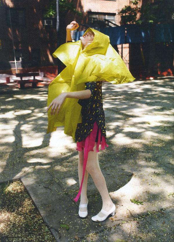 Hanne Gaby Odiele by Max Farago for Dazed & Confused