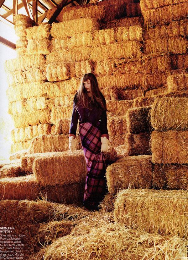 Karlie Kloss by Mario Testino for Vogue US November