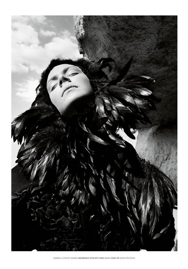 Kinga Rajzak by Marton Perlaki for The Room