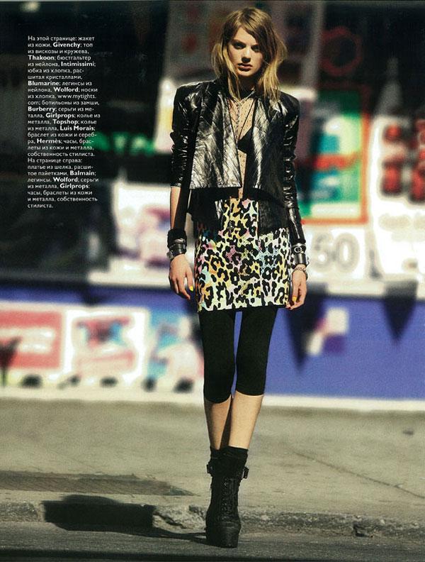 Vogue Russia October | Bregje Heinen by KT Auleta