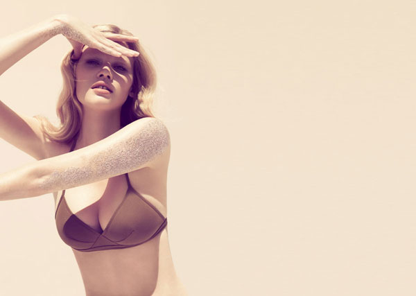 Campaign | Lara Stone for Eres Cruise 2010 by Camilla Akrans