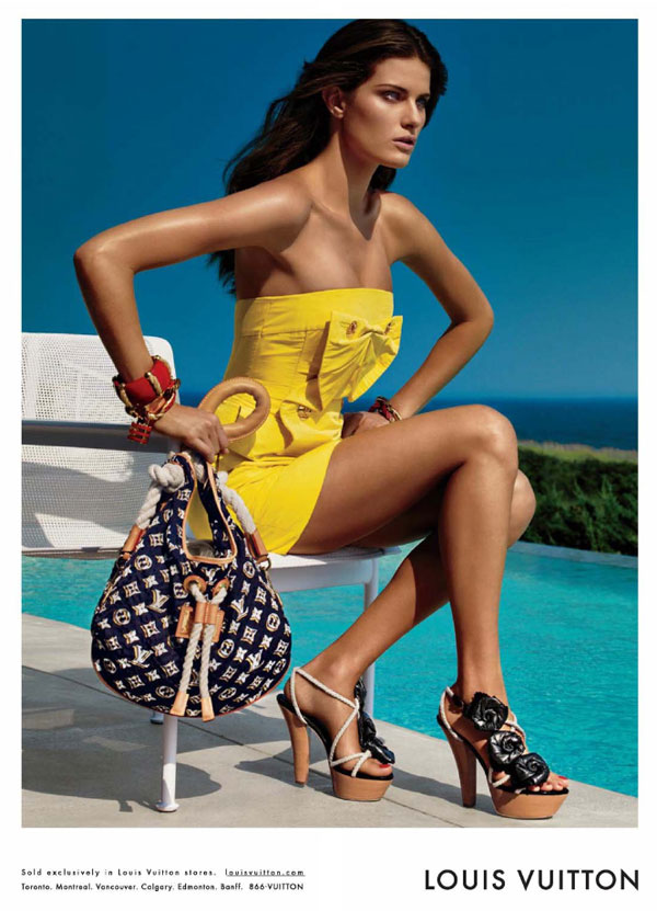 Preview | Isabeli Fontana for Louis Vuitton Cruise 2010 by Patrick Demarchelier