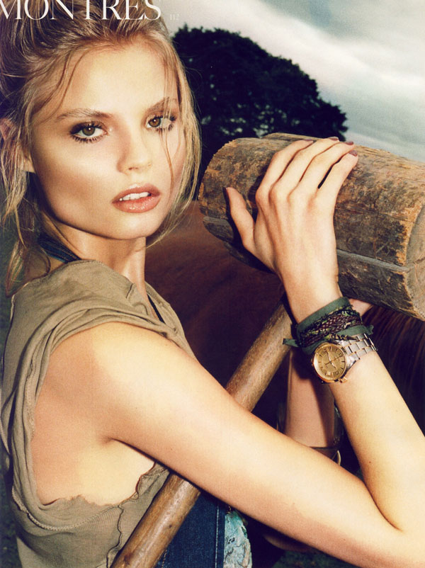 Vogue Paris Nov | Magdalena Frackowiak by Katja Rahlwes