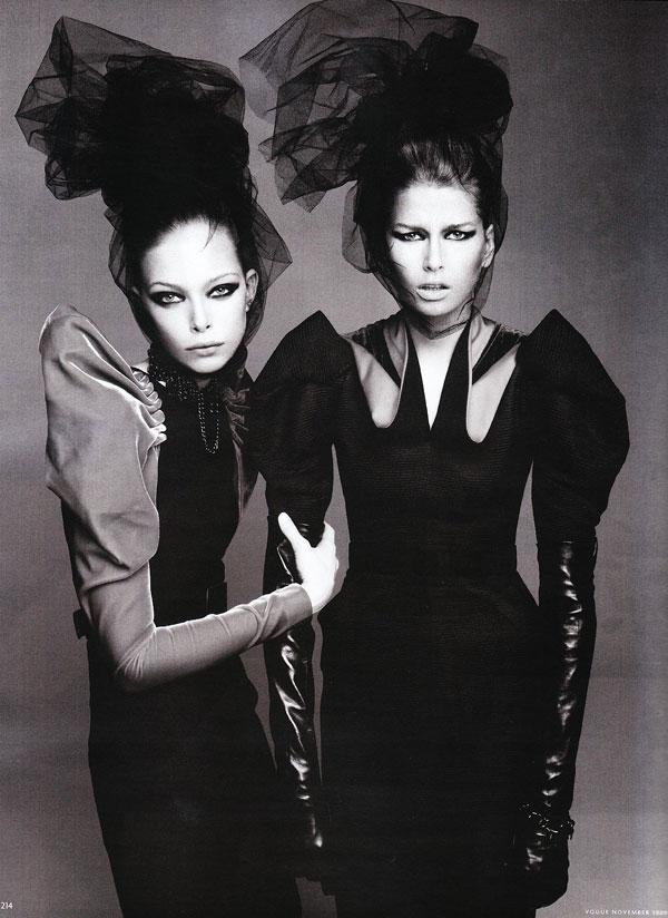 Hana & Tanya by Paola Kudacki for Vogue Germany