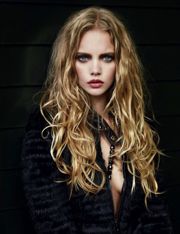 Marloes Horst for Dutch L'Officiel October by Marcin Tyszka