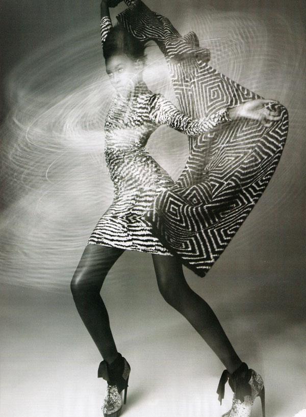 Adama Diallo by Paola Kudacki for Harper's Bazaar UK