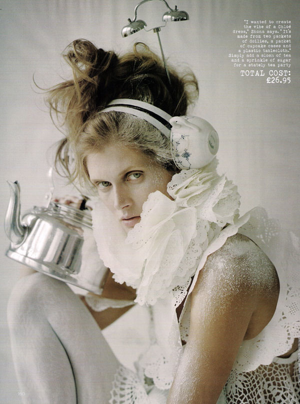 Make Do & Mend | Malgosia Bela by Tim Walker for Vogue UK