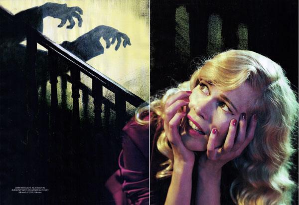 Claudia Schiffer by Michelangelo di Battista for Harper's Bazaar UK
