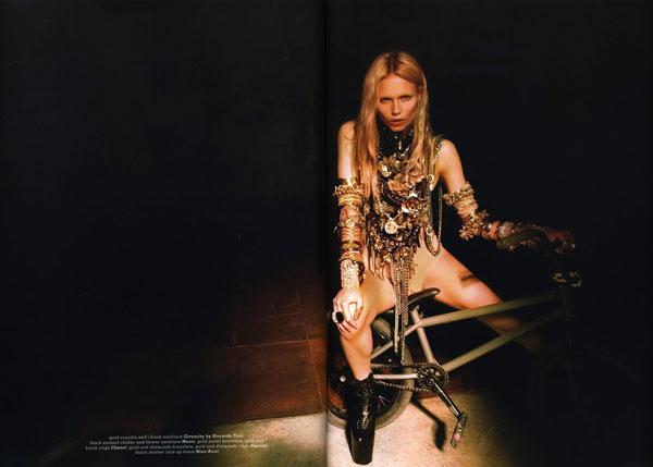 Natasha Poly by Riccardo Tisci for Muse