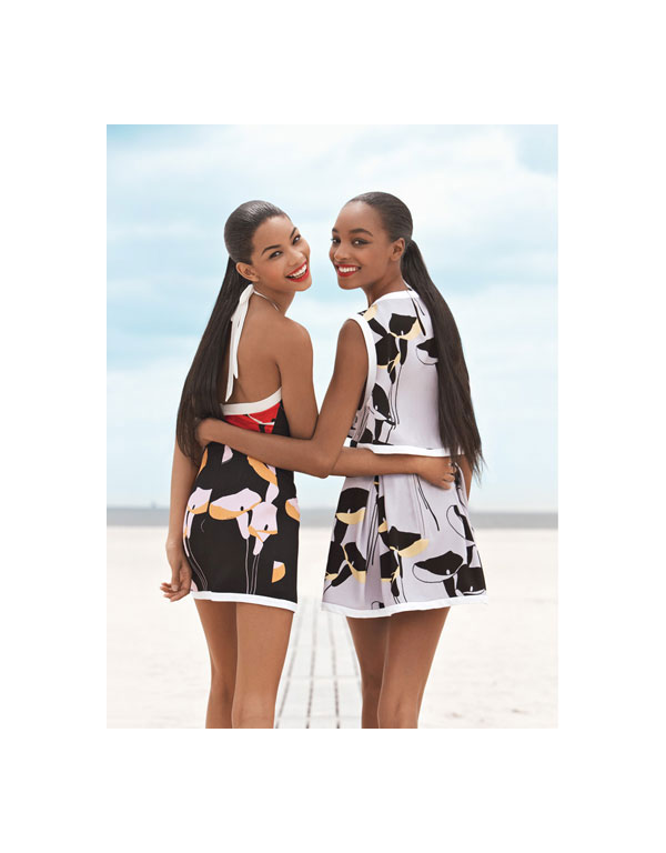 Double Whammy | Jourdan & Chanel's Editorial for Teen Vogue
