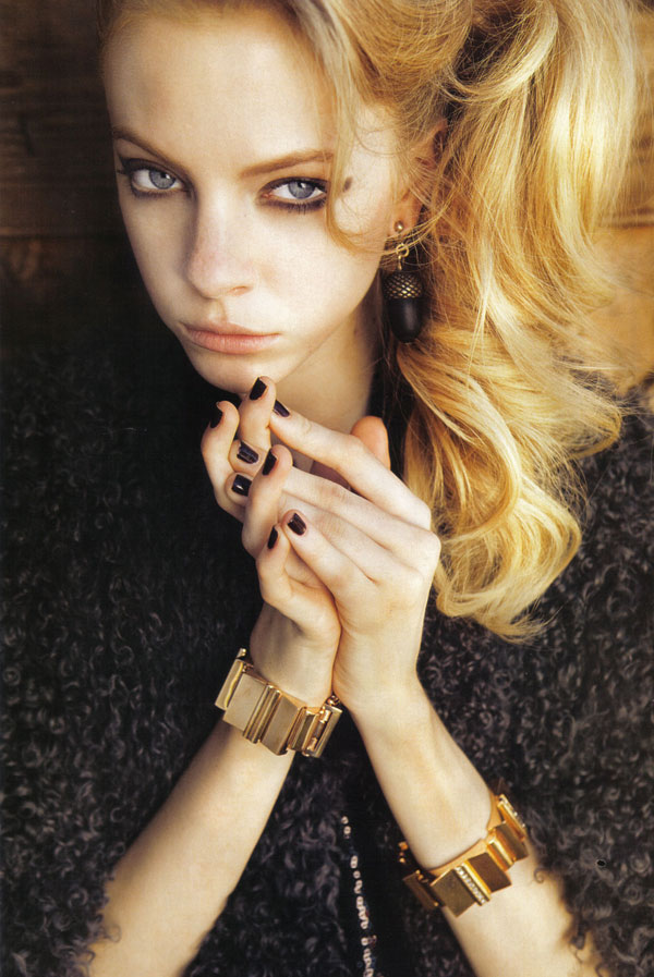 Jock Sturges Photographs Skye Stracke for Marie Claire Italy