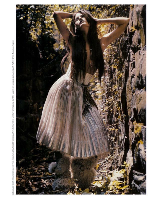 A Look Back | Fleur D'Exil by Mario Sorrenti