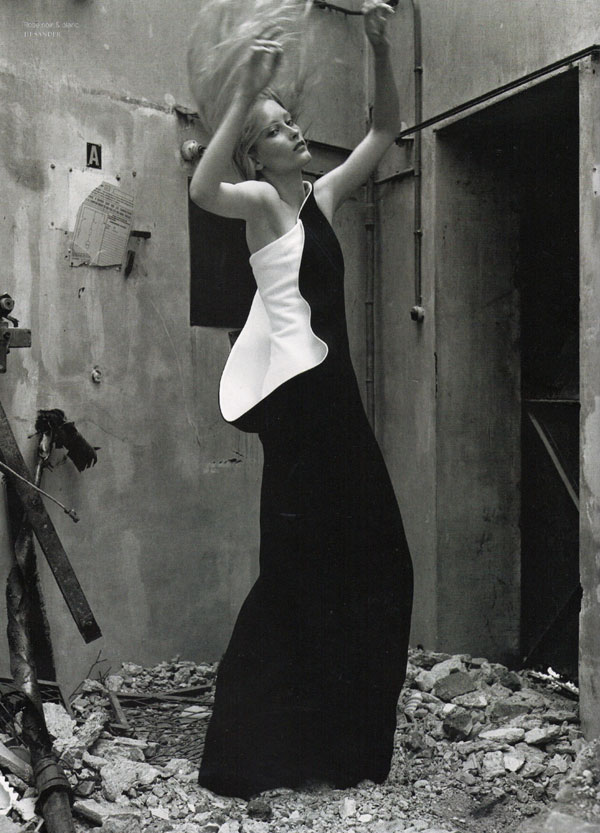 French Revue de Modes #15 | Iekeliene Stange by Ralph Mecke