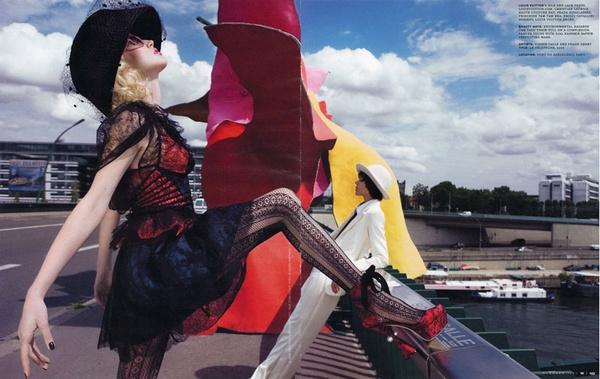 Art and Commerce | Freja & Raquel by Inez & Vinoodh for W