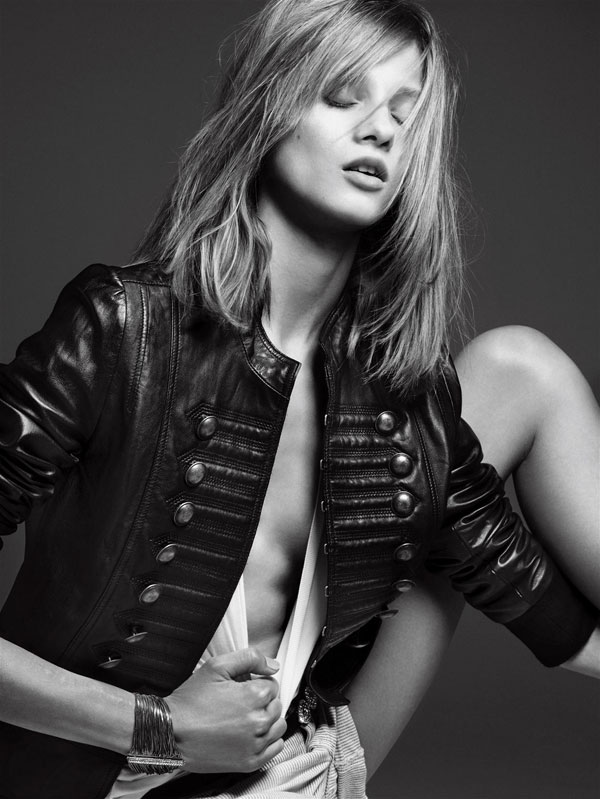 Morning Beauty | Anna Selezneva by Hedi Slimane