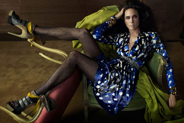 Campaign | Jennifer Connelly for Balenciaga Fall 2009 by Meisel