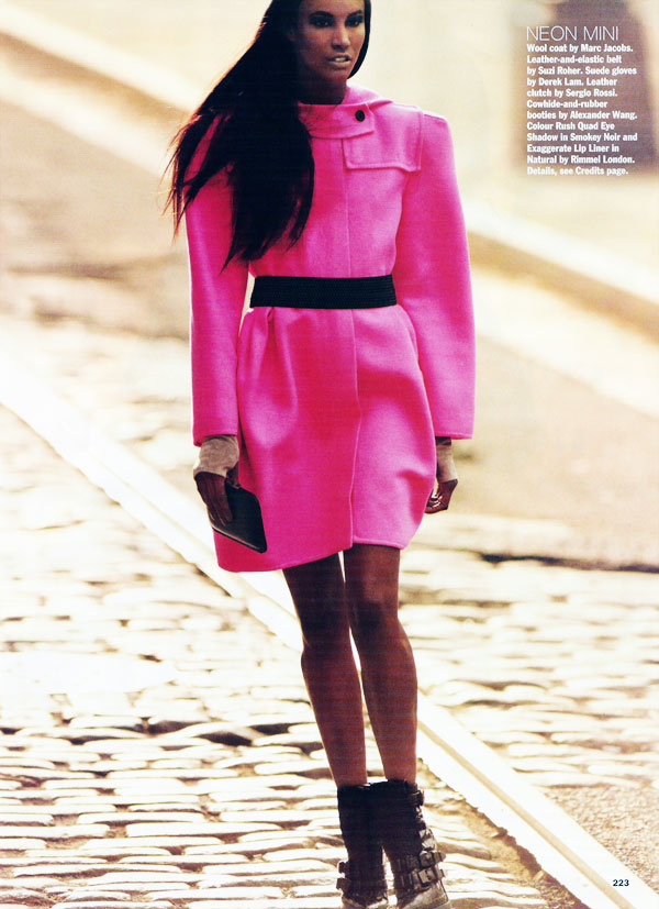 Chanel Iman & Sessilee Lopez in Allure October