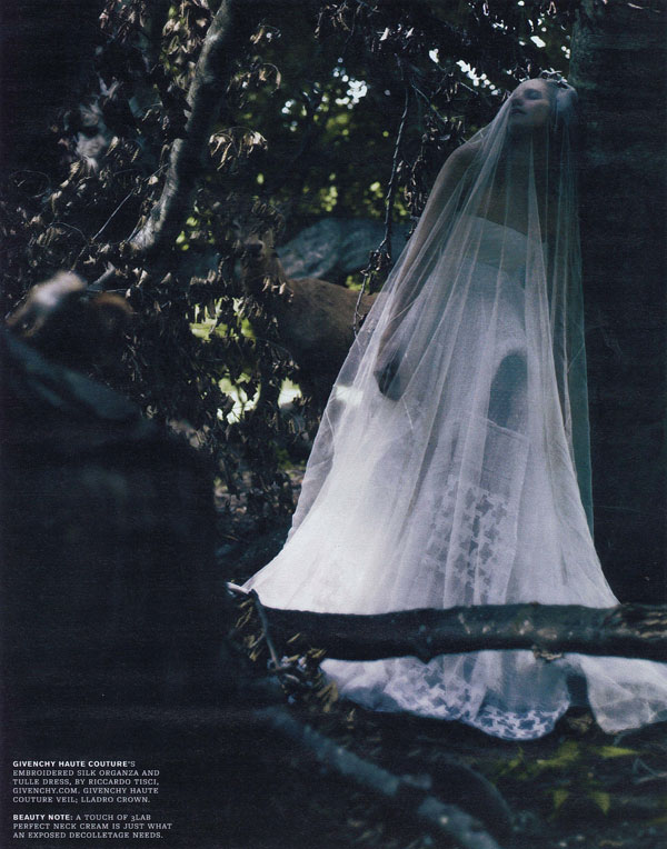 Dream Sequence by Paolo Roversi for W October