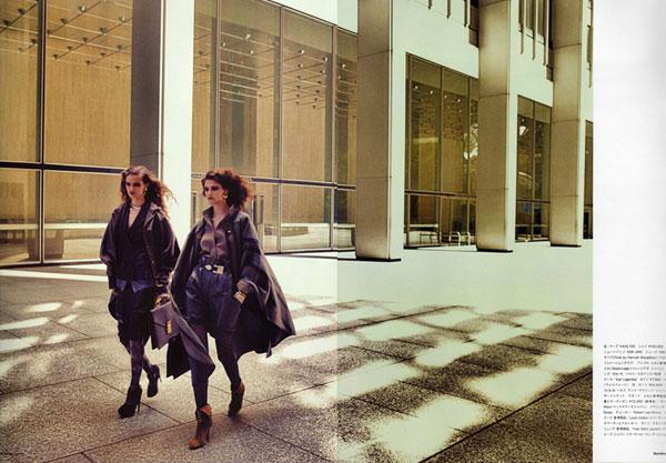 Kendra & Katie in Numéro Tokyo by Sebastian Kim