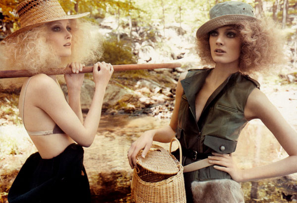 Fishing Day | Iekeliene & Constance by Tom Munro