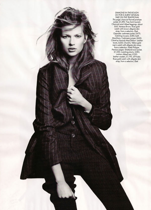 It's A Guy Thing | Bette Franke by Paola Kudacki for Bazaar UK