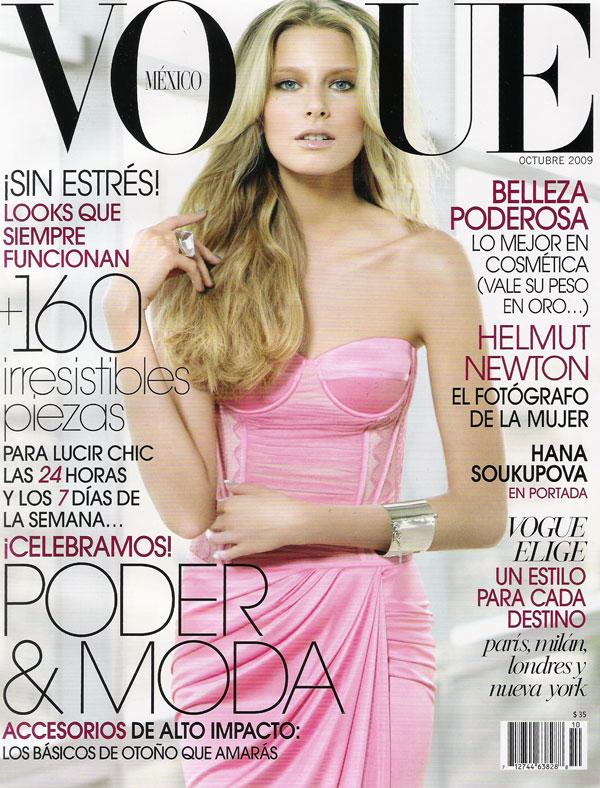 Vogue Mexico October 2009 - Hana Soukupova by Sarah Silver