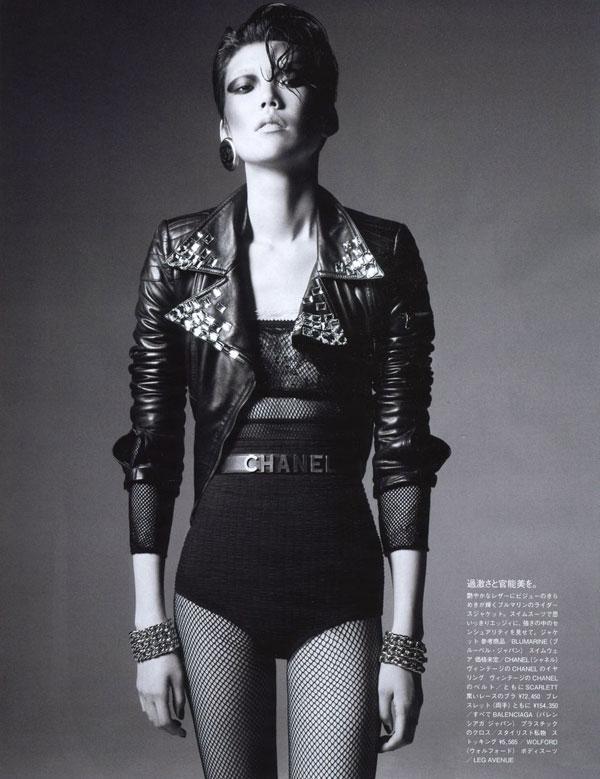 Tao Okamoto by Daniel Jackson for Vogue Nippon November