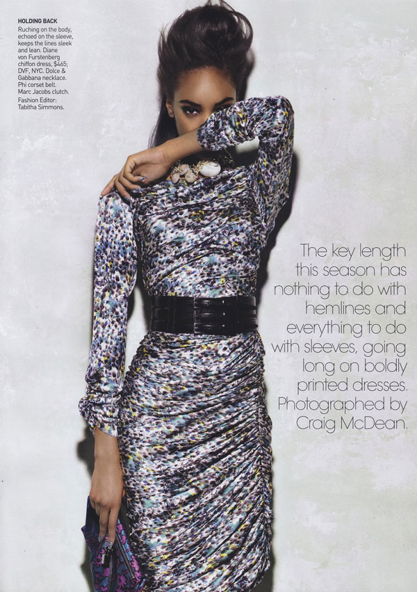 Jourdan & Chanel Are 'Babes In Arms' for Vogue US