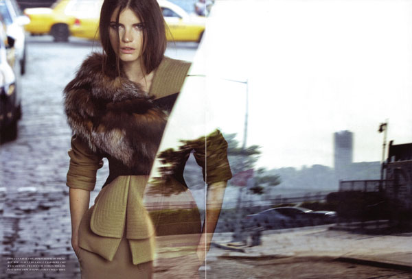In the City | Jeisa Chiminazzo by Dan Martensen for Flair