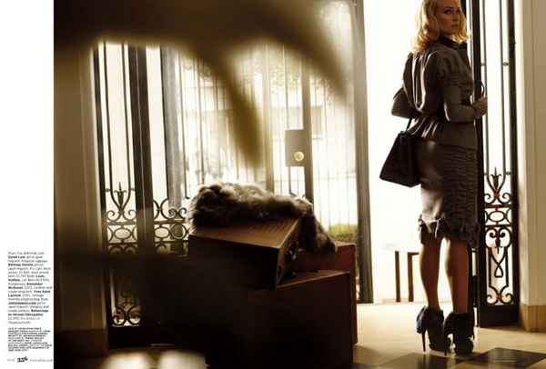 Carter Smith Photographs Diane Kruger for Elle US