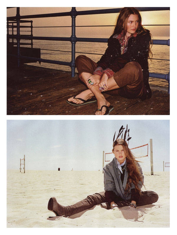 Matthias Vriens-McGrath Shoots Behati Prinsloo for Flair