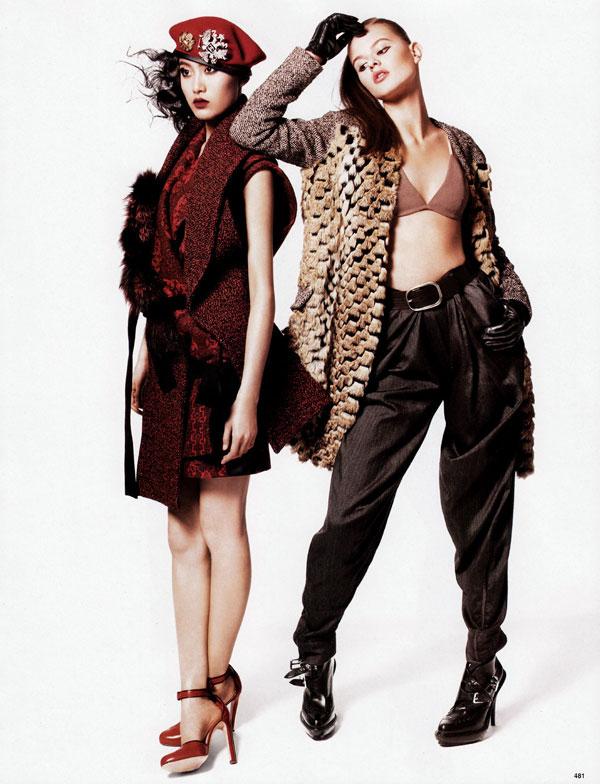 The New Fur   Jason Kibbler for Vogue China October