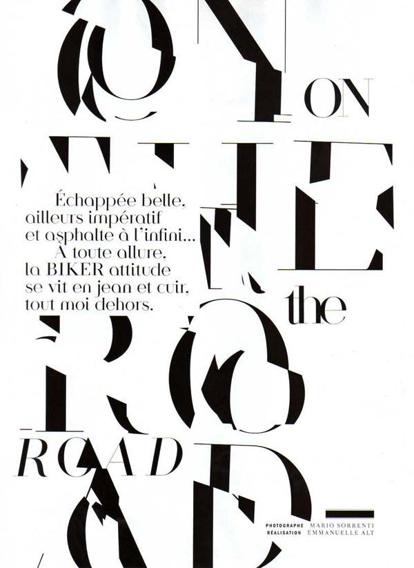 On the Road | Patrick Petitjean & Eniko Mihalik by Sorrenti
