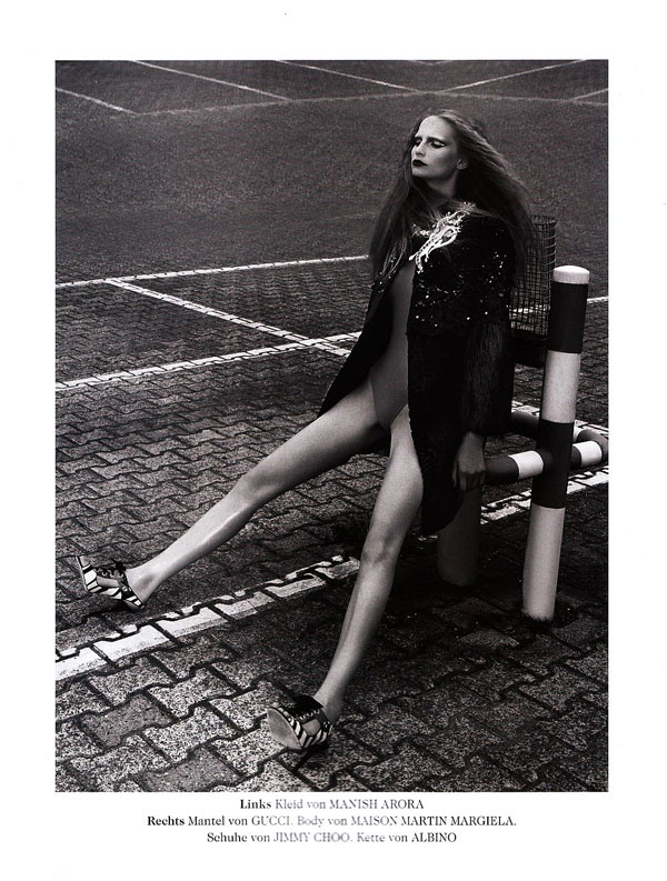 Kathrin Thormann for Tush by Paul Empson