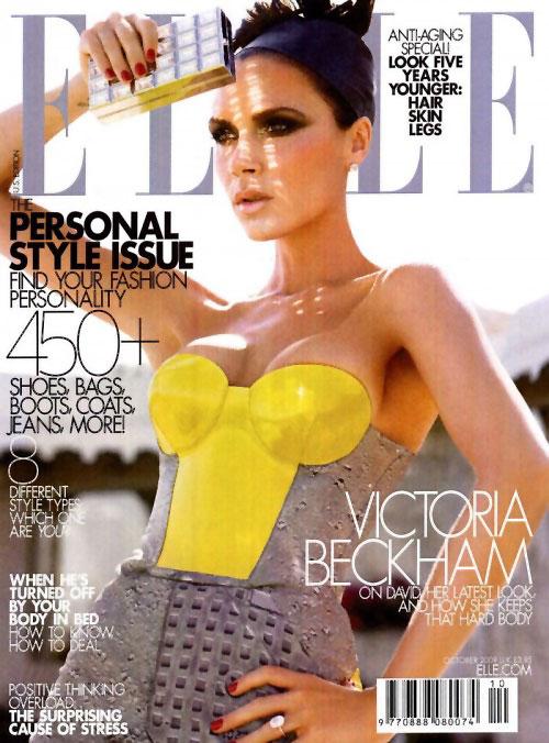 Elle US October 2009 - Victoria Beckham