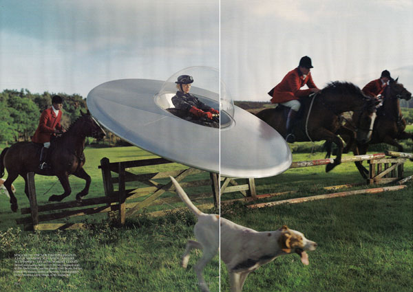Kinga Rajzak by Tim Walker for Vogue UK